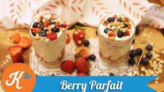 Resep Berry Parfait