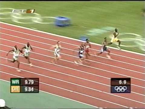 2000 Sydney Olympics 100m Maurice Greene