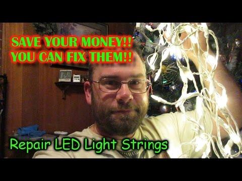 LED Christmas Light String Repair!!