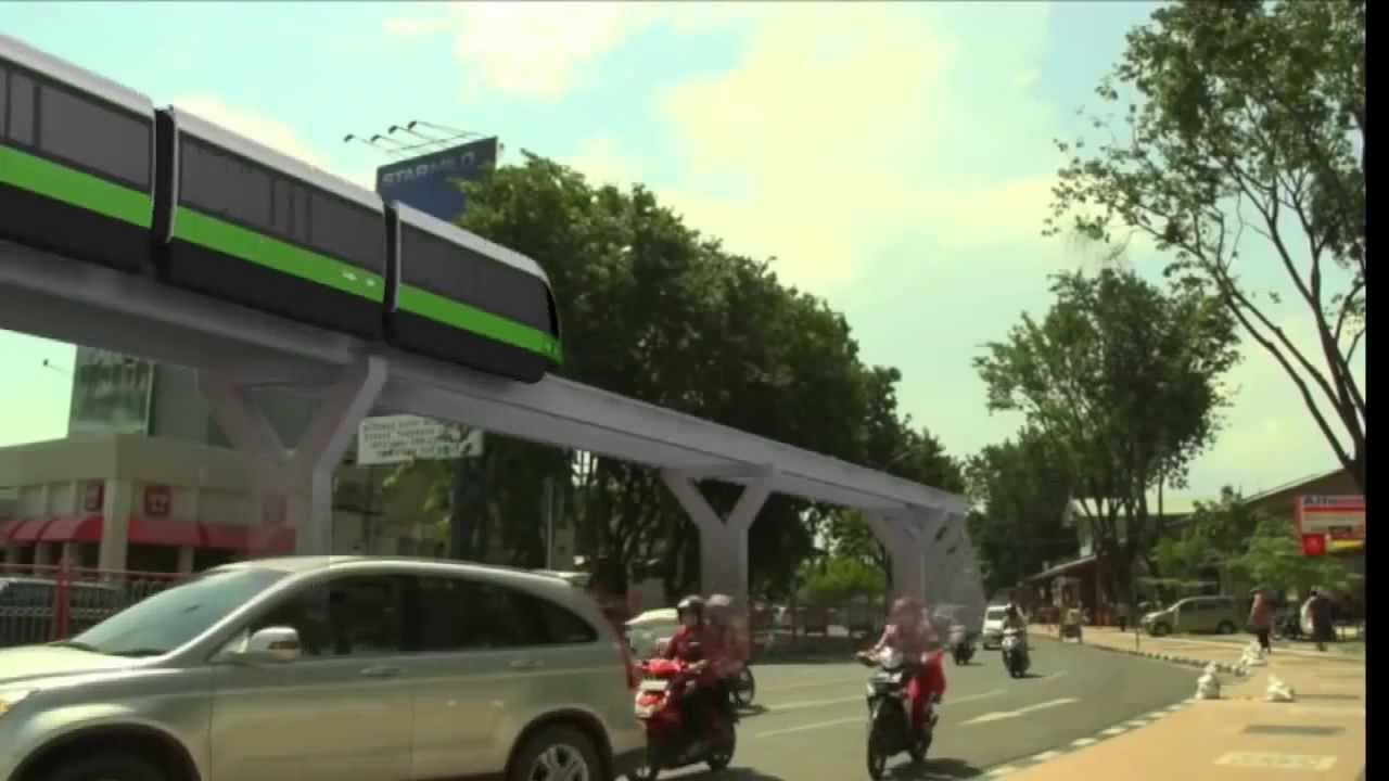 Rencana Monorail Surabaya