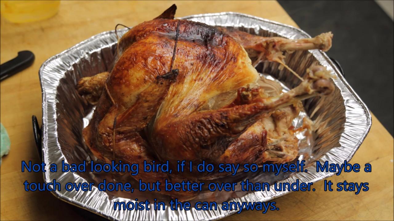 garbage can turkey
