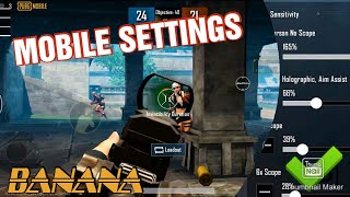 PUBG MOBILE HIGH SENSITIVITY SETTINGS | ASUS ROG 2 PHONE 2 THUMBS