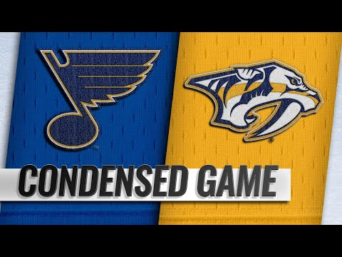 02/10/19 Condensed Game: Blues @ Predators