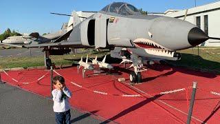 Havacılık Müzesinde Köpekbalığı Uçak Gördük🦈😱tanklara Bindik, Füzeleri Inceledik