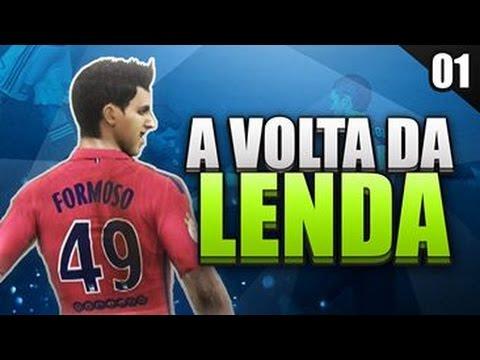 FIFA 16 A VOLTA DA LENDA - INÍCIO!!!! #01