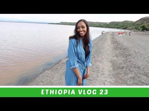 Ethiopia Vlog 23 South Ethiopia Swimming in Langano | Amena Teferi