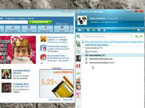 Chatear Con Hotmail Messenger