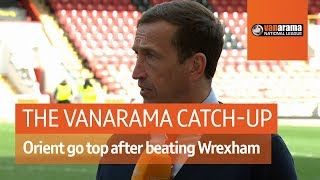 Leyton Orient host Wrexham in a top of the table clash | National League Highlights: Matchday 37