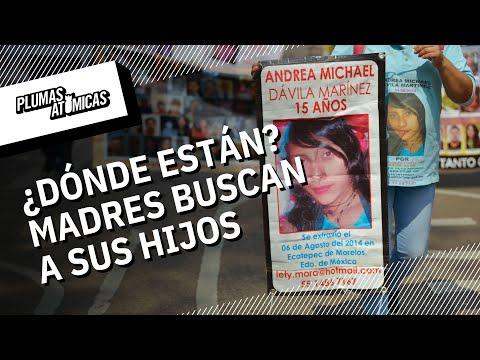 Marcha de la dignidad: Madres de desaparecidos tomaron las calles el 10 de Mayo