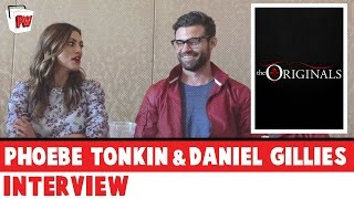 THE ORIGINALS: Phoebe Tonkin INTERRUPTED By Daniel Gillies - Comic-Con 2016