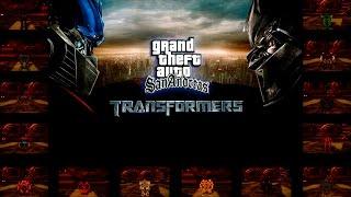 Обзор GTA San Andreas Transformers Mod Обновлённая Версия V.2(Огромное Спасибо тем людям которые мне помогали с этой игрой а именно Голд Фиш и USF. Голд Фиш делал Карабль..., 2016-06-26T07:13:01.000Z)