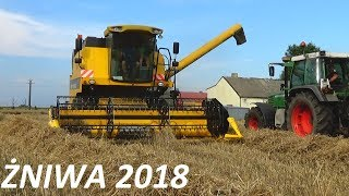 ☆ Żniwa 2018 ☆ Fendt Kopći ☆ Akcja żyto☆ New Holland T6.150 ☆Fendt 320 Vario☆ New Holland tc5050