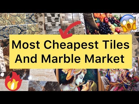 Cheapest Tiles And Marble Market   Home, Kitchen, Office And Showroom Decorative Tiles