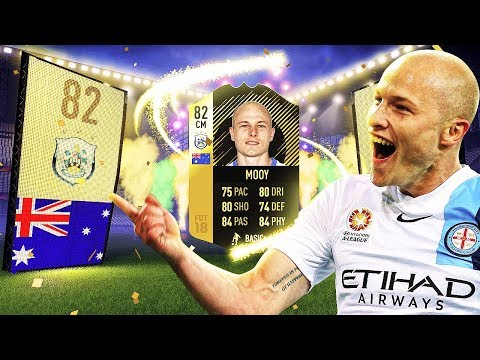 IF MOOY! THE HUDDERSFIELD HERO! THE BEST AUSTRALIAN CARD IN FIFA HISTORY! FIFA 18 ULTIMATE TEAM