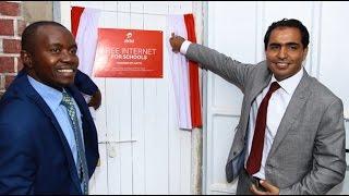 Mucheru launches Airtel free Internet for Schools in Machakos