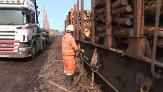 Riding the Carlisle Log Train by Train Crazy - railway video