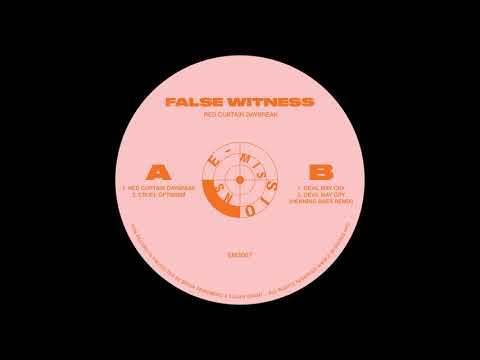 False Witness - Red Curtain Daybreak [EMS007]
