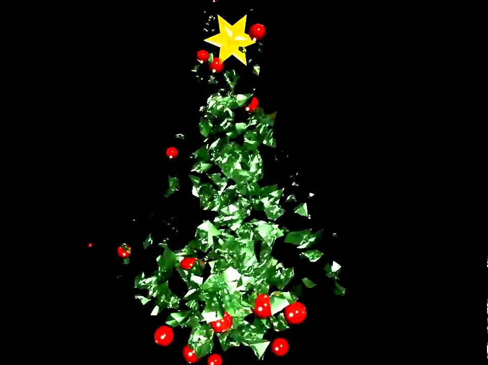 Christmas Tree Animation   YouTube