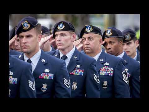 DFN:Sheppard Air Force Base's Blue Berets, SHEPPARD AIR FORCE BASE, TX, UNITED STATES, 05.18.2018