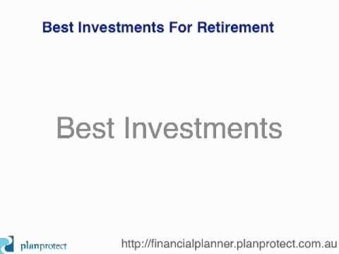 Best Investments For Retirement