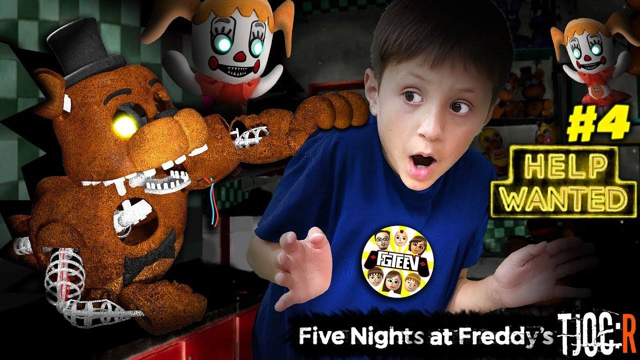 DARK ROOMS! FIVE NIGHTS at FREDDYs HELP WANTED + TJOC Reborn Showtime Remastered!