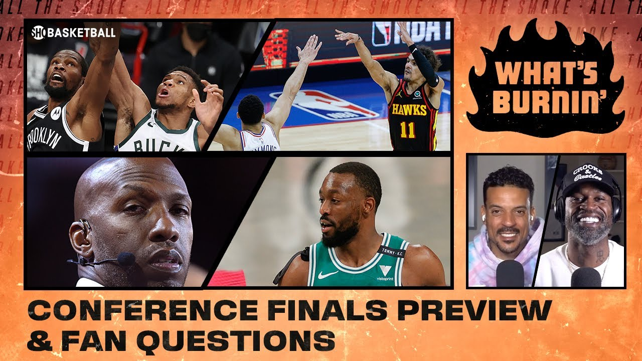 Conference Finals Preview, NBA Title Odds, Coaching Fits | WHAT'S BURNIN | SHOWTIME Basketball