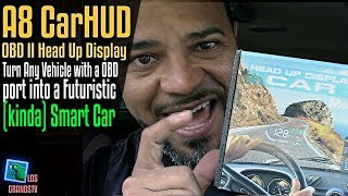 Car Head Up Display A8 5.5 OBDII HUD: LGTV Review