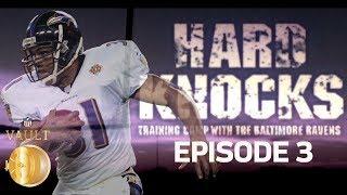 Star Player Hurt, Sharpe Gets Revenge, & Preseason Surprise in Game 1   '01 Ravens Ep. 3   NFL Vault