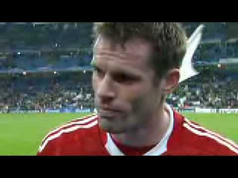 Jamie Carragher After Match Liverpool Vs Madrid Interview