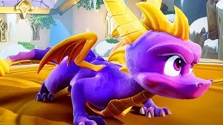SPYRO THE DRAGON Remastered All Cutscenes (Spyro Reignited Trilogy) Game Movie