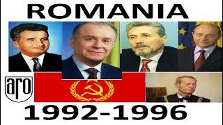 Romania perioada 1992-1996