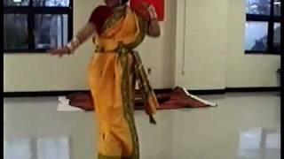 Bengali Folk Dance Sadher Lau Saraswati Pujo 2010