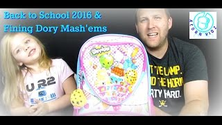 Back to School 2016 & Finding Dory Mash