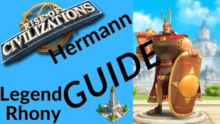 Commander spotlight Hermann - Tip's and Advice's - Rise of Civilizations