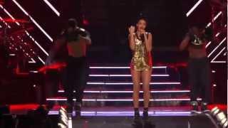 """Rihanna - """"Disturbia"""" Live in Las Vegas HD"""