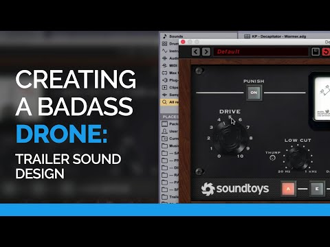 Creating A Badass Drone - Trailer Sound Design Evenant Course