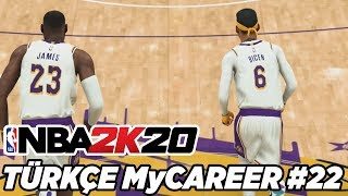 Türkçe NBA 2K20 MyCAREER #22 | WARRIORS SERİSİ! PLAYOFF 2. TUR!