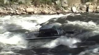 Jet Boat Payette River - Landslide Rapid 05-09