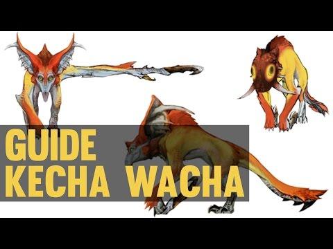 ►GUIDE KECHA WACHA◄ Monster Hunter 4 Ultimate FR HD