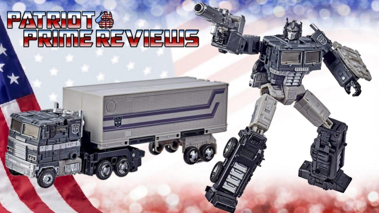 Patriot Prime Reviews Alternative Universe Optimus Prime