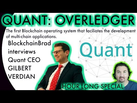 QUANT: Overledger CEO chats with BCB about the first Blockch