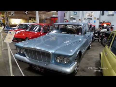 Gippsland Vehicle Collection Maffra - '60s Vehicles' display
