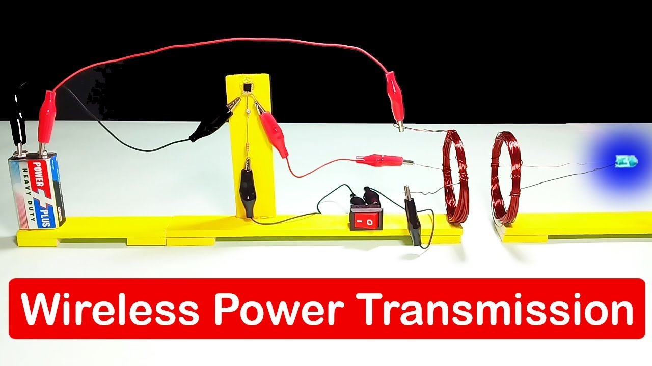 How To Make Wireless Power Transmission Science Project