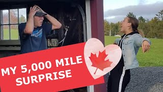 I TRAVELLED 5,000 MILES TO SURPRISE MY DAD **priceless reaction*