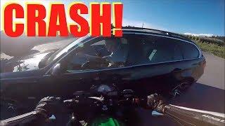 Motorcycle Crashes, Close Calls & Mishaps 2018 #2