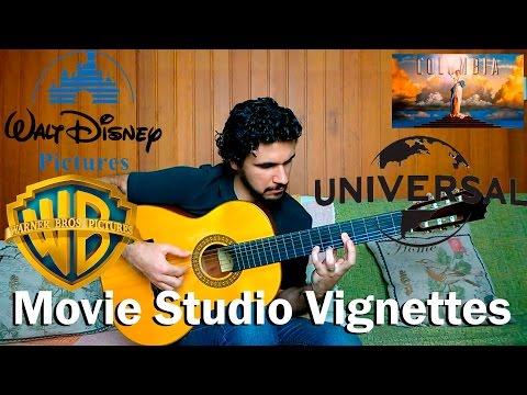 Movie Studio Vignettes - Fingerstyle Guitar (Warner, Universal, Fox, DreamWorks, Columbia, Disney)