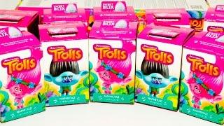 ТРОЛЛИ игрушки от Свитбокс Sweet Box Trolls Dreamworks