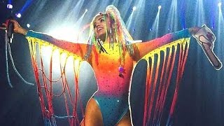 Miley Cyrus On My Own Official Video Bangerz Tour Live In Monterrey