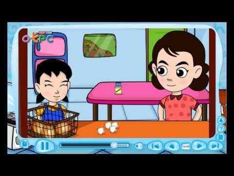 ภาษาอังกฤษ ป.3 - Dinner at home (อาหารค่ำที่บ้าน) [21/38]
