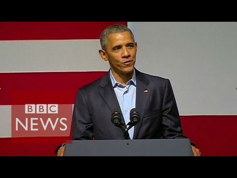 Barack Obama's words of advice for Kanye West - BBC News